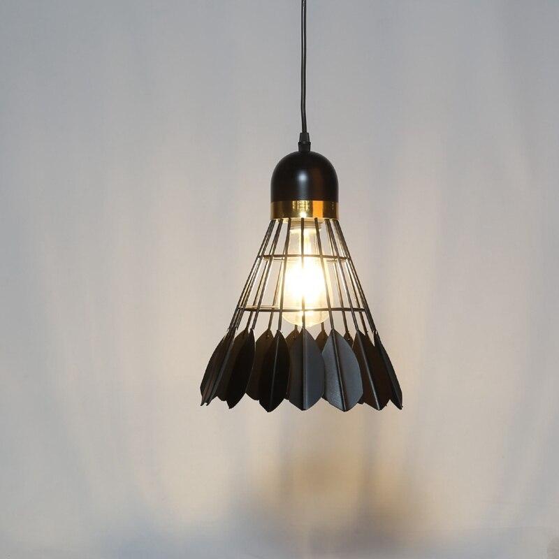 Badminton Chandelier Simple Modern Scandinavian Restaurant Lamp Restaurant Lamp Creative Personality Bar Study Bedroom Lamp
