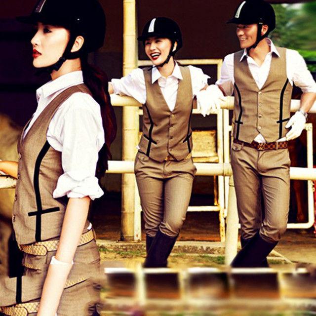 Fashionably Designed Horse Riding Cotton Pants For Women & Men  3