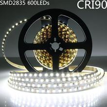 DIY LED U-Home High CRI RA 90+ LED Strip Light SMD 2835 DC12V 5M 600leds Nonwaterproof Neutral White 4000K LED Lighting for Home