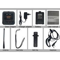 מכשיר הקשר Baofeng-BF-UV5RE ווקי טוקי Portable Dualband 128Ch דו כיוונית אלחוטית Comminication רדיו FM מכשיר הקשר ???????? ??? ????? (5)