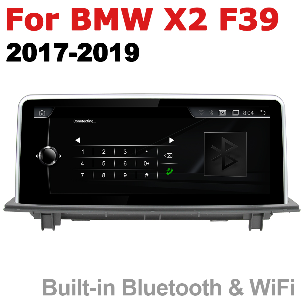 Car Radio 2 din <font><b>GPS</b></font> Android Navigation <font><b>For</b></font> <font><b>BMW</b></font> <font><b>X2</b></font> F39 2017~2019 EVO AUX Stereo multimedia touch screen original style image