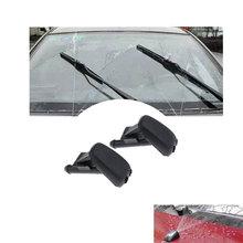 1 пара автомобильных соплов стеклоочиститель моющий распылитель насадка для BMW E90 E60 E46 32*45*17 мм отверстия регулируемые автомобильные аксессуары