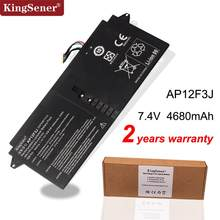 "KingSener nowy AP12F3J Laptop bateria do acer Aspire 13.3 ""Ultrabook S7 S7-391 2ICP3 65/114-2 AP12F3J 7.4V 4680mAh/35WH(China)"