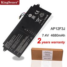 "Kingsener Mới AP12F3J Pin Dành Cho Laptop Acer Aspire 13.3 ""Ultrabook S7 S7 391 2ICP3/65/114 2 AP12F3J 7.4V 4680 MAh/35WH"