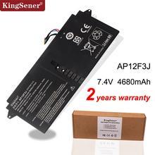 "Kingsener bateria para laptop, nova ap12f3j bateria para computador portátil ace aspiry 13.3 ""ultrabook s7 S7 391 2icp3/2001 2 ap12f3j 65/114 v 4680mah/35wh"