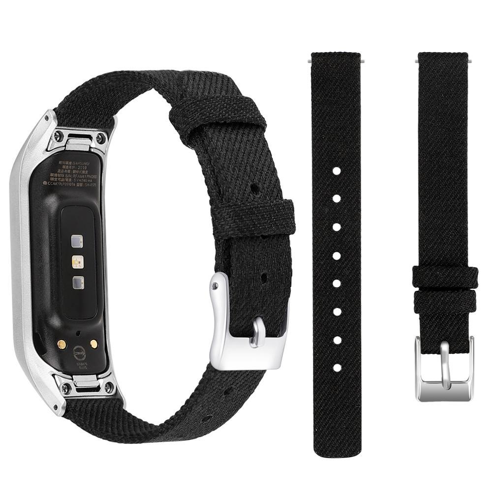 Холщовый ремешок для умных часов ремешок с пряжкой ремешок для samsung Galaxy Fit E аксессуары для часов