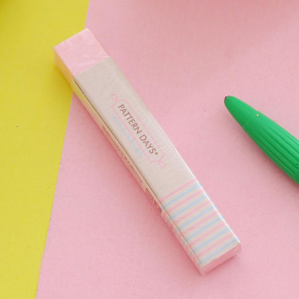 1PCS Creative Student Prizes Cute Fresh Strip Eraser School Supplies Stationery Kindergarten Children Birthday Gift