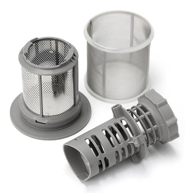 ELEG-2 Part Dishwasher Mesh Filter Set Grey PP For Bosch Dishwasher 427903 170740 Series Replacement For Dishwasher