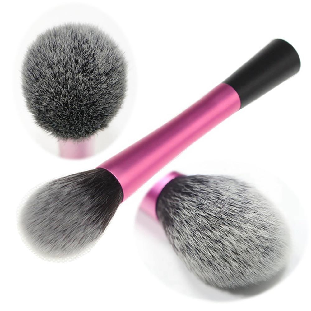 S'AGAPO 1PCS Foundation Makeup Brush Aluminum Professional Blush Concealer Honey Powder Trimming Loose Powder Beauty Makeup Tool
