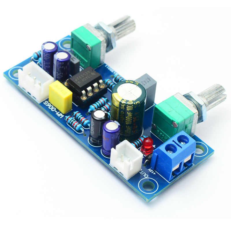 ローパスフィルタ低音サブウーファープリ Amp ボードデュアル電源 NE5532 ローパスフィルタ低音プリアンプ DIY キット