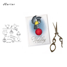 JC Clear Rubber Stamps for Scrapbooking Eagle Birds Craft 2019 Silicone Seals Stencil Album Card Make Decoration Sheet