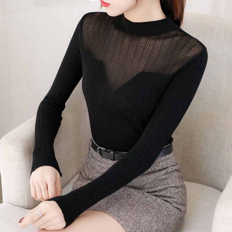 BOBOKATEER Black Sweater Pullover Women Winter Clothes Womens Sweaters 2019 Pull Femme Nouveaute Sueter Feminino Jersey Mujer