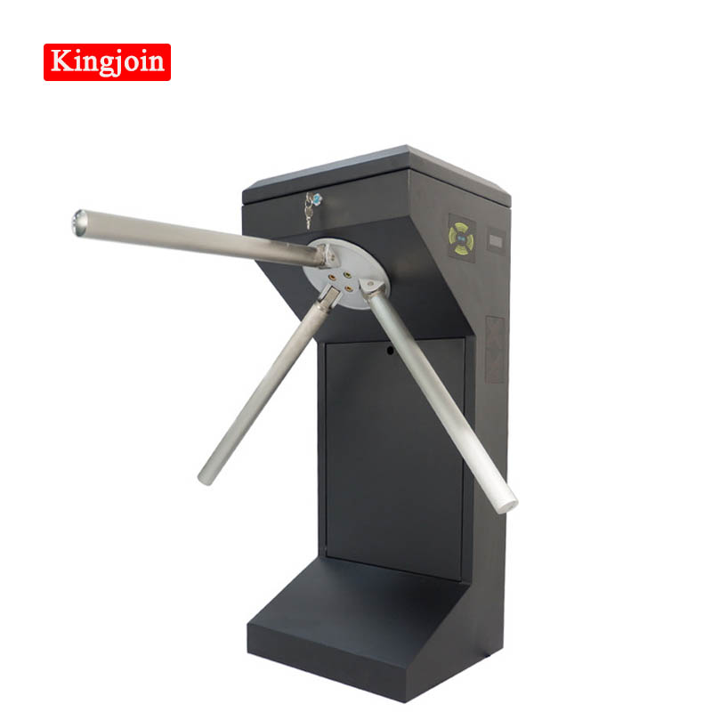 KINGJOIN Automatic Control Movement National Security Entrance Tripod Revolving Door Tripod Fence Access Control Turnstile