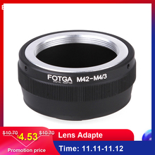 Original Fotga Adapter Ring for M42 Lens to Micro 4/3 Mount Camera Lens Adapte for Olympus DSLR Cameras