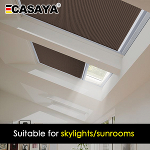 Image 5 - Сотовые жалюзи для крыши, жалюзи для дневного света/светонепроницаемые сотовые жалюзи для крыши, 16 цветов, Индивидуальный размер