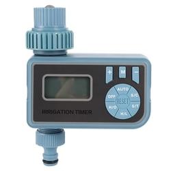 Automatyczny elektroniczny inteligentny cyfrowy czasowy wyłącznik przepływu wody System nawadniania podlewanie ogrodu zegar automatyczne nawadnianie w Liczniki ogrodowe do wody od Dom i ogród na