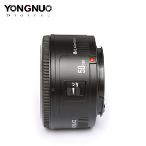 Image 1 - Dorigine YONGNUO YN50mm F1.8 Objectif Pour Nikon D800 D300 D700 D3200 D3300 D5100 Objectif Dappareil Photo REFLEX NUMÉRIQUE Pour Canon EOS 60D 70D 5D2 5D3 600D