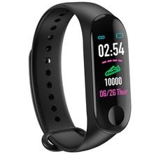 M3 Bluetooth Smart Wristband Bracelet Smart Band Blood Pressure Heart Rate Monitor Activity Fitness Tracker Watch Smartwatch