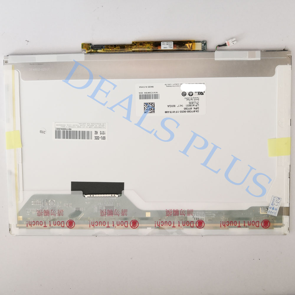 LP141WX1(TL)(E3) Laptop LCD Screen With Inverter For Lenovo N440 N440A N440G For Dell Latitude D620 30Pin 1280*800 14.1-inch