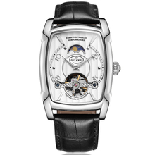 Genuine Leather Band Automatic Mechanical Watch Classic Male