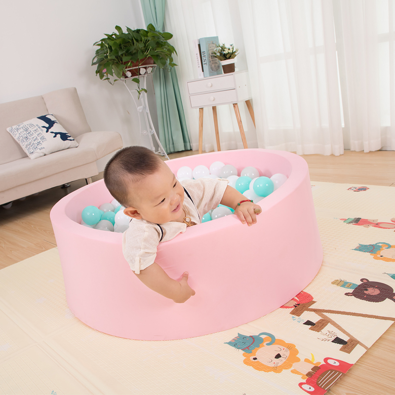 Infant Shining Ocean Ball Pool Diameter 80CM 31IN Suede Fence 5CM Thickness Sponge Filled Ball Pool Indoor And Outdoor Game Pool in Ball Pits from Toys Hobbies