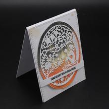 ZhuoAng Lonely landscape Cutting/DIY Paper Card Craft Embossing Die Cut DIY scrapbooking cutting machine