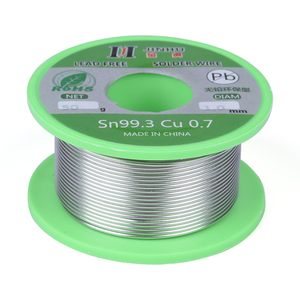 Image 2 - 50g Lead free Solder Wire 0.5 1.0mm Unleaded Lead Free Rosin Core for Electrical Solder RoHs