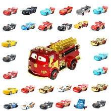 Disney Pixar Тачки 2 3 Аниме внедорожник Молния Маккуин Мэтт Джексон шторм Рамирес 1:55 литой автомобиль металлический сплав подарок для детей