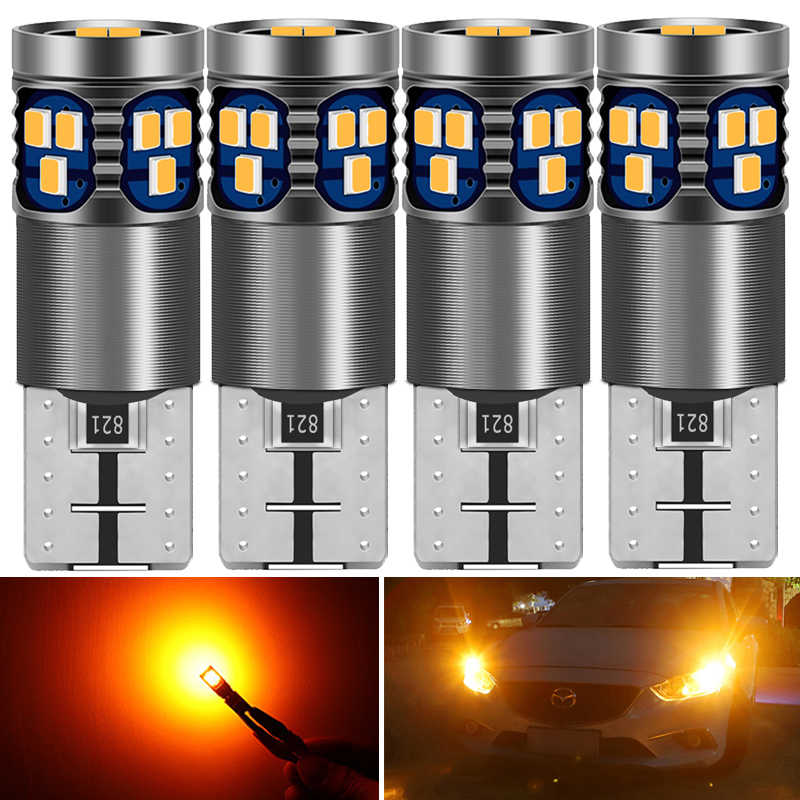 4Pcs T10 W5W Nieuwe Super Heldere Led Wedge Parkeerplaats Lampen Auto Dome Reading Lampen 168 501 Voor Honda Civic accord Crv Fit Jazz Stad Hr