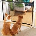 Изоляционная дверь для домашних животных KIMPETS, перегородка для домашних животных, для защиты от ударов кошек, балкона