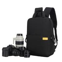 DSLR Waterproof Camera Bag Backpack Lens Case for Canon EOS R 4000D 1500D 1300D T6 T7 800D 750D 760D 77D 70D 5DIII 200D 6D II