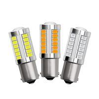 2 stücke 33SMD 1156 5630/5730 LED Lampe Für Auto 12V Led-lampen Für Blinker Licht Blinker Lampe bremse Reverse Parkplatz Licht