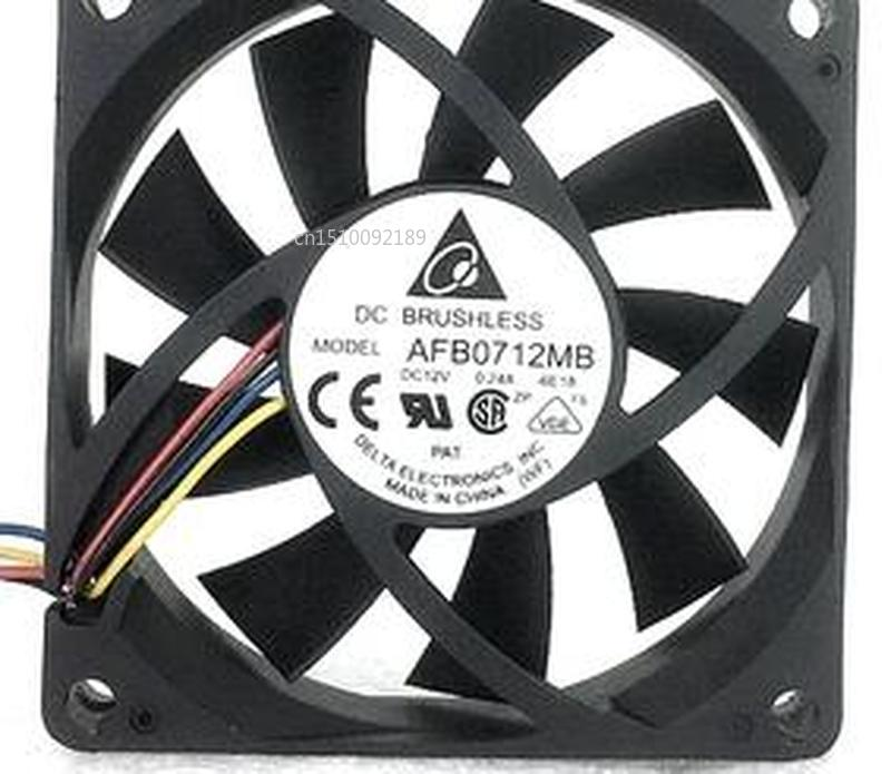 For Original 7015 7CM 12V 0.24A Computer CPU Fan Cooling Fan AFB0712MB Double Ball Free Shipping