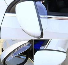 Akcesoria samochodowe lusterko wsteczne z daszkiem przeciwdeszczowym dla passat b5 b6 bmw e90 e39 audi a4 b6 citroen c5 bmw e60 audi a6 c5 bmw e36 e46 tanie tanio plastic 18 5cm 0 04kg
