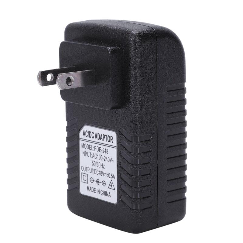 Netzteil Ethernet POE Injektor Adapter für IP Telefon Gateway IP Kamera
