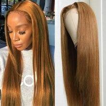 Игрока Nadula прямые волосы парик шнурка 20