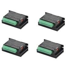 ABSF 4 Pack TB6600 4A 9-42V Stepper Motor Driver CNC Controller, Stepper Motor D
