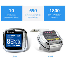 Physiotherapy equipment semiconductor laser treatment instrument 650nm low level soft cold laser therapy watch (LLLT) semiconductor laser therapy heart attack myocardial infarction 13 laser beams cold laser device