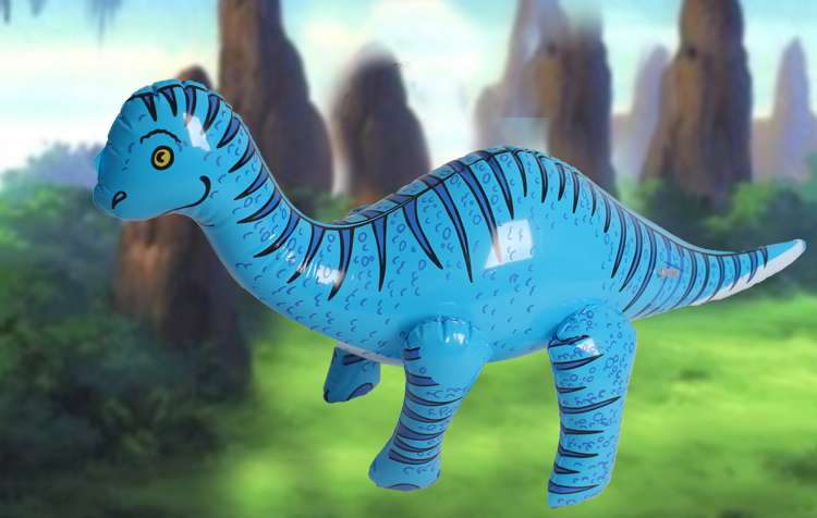 Inflatable Animal Toy Inflatable Dinosaur Thickening Pvc Animal Simulated Model Kindergarten Children's Toys > 3 Years Old