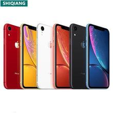 Unlocked Oirginal Apple Gebruikt Iphone Xr Geen Gezicht Id 6.1 Inch Smartphone A12 Bionische Rom 64/128Gb/GB256GB Nfc Mobiele Telefoon 7MP + 12.0MP