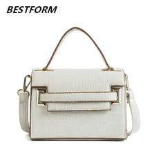 купить Luxury Handbags Women Bags Designer High Quality Korean Messenger Bag Womens Leather Handbag Crocodile Small Ladies Tote Bags по цене 893.6 рублей