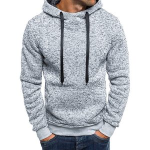Autumn Winter Solid Hoodies 2020 Men Casual Tracksuits Hip Hop Coat Pullover Sweatshirt Men Hoodies Moleton Masculino Top