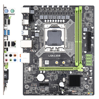 X79A Server PCI E Motherboard Electronic Sports Memory Game Computer Accessories Replacement Accessories CPU Repair Stable Parts