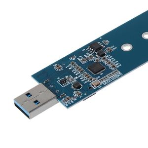 Image 5 - M.2 to USB Adapter B Key M.2 SSD Adapter USB 3.0 to 2280 M2 NGFF SSD Drive Adapter Converter SSD Reader Card
