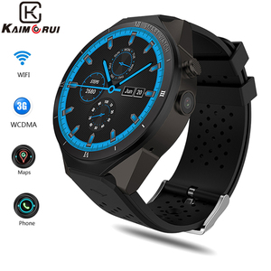 Image 1 - KW88 Pro Smart watch Men 3G GPS Watch With Camera Android 7.0 1GB+16GB Bluetooth mens Sport Watch Connect IOS Android Phone