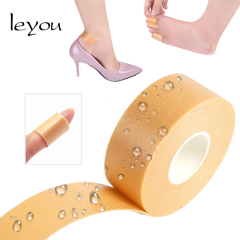 Fabric Shoes Back Heel Inserts Insoles Pads Sticker Cushion LY