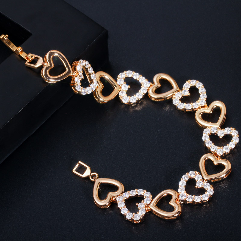 Love Heart Shape Bracelet for Women Hec1b3ec9cb3142139d80667c001817feI bracelet