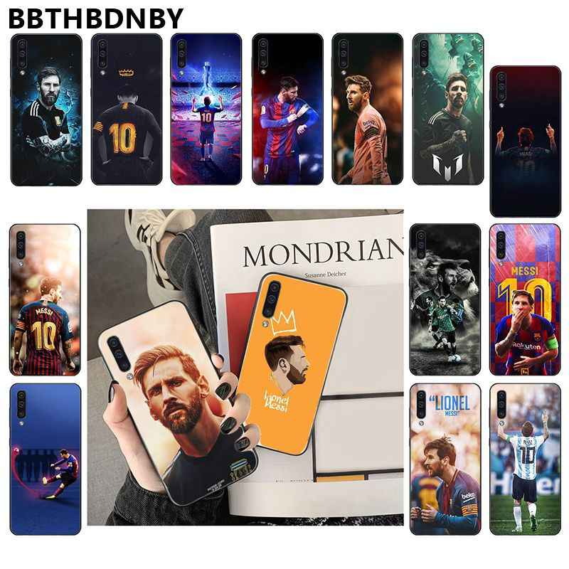 Pour Samsung Note9 cas MESSI TPU Silicone Souple Téléphone Coque pour Samsung Note 3 4 5 7 8 9 10 pro A7 2018 A10 A40 A50 A70 J7 2018