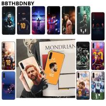For Samsung Note9 case MESSI TPU Soft Silicone Phone Coque for Samsung Note 3 4 5 7 8 9 10 pro A7 2018 A10 A40 A50 A70 J7 2018(China)