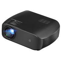 F10 Projector 3D Hd Mini Home Theater 1080P Portable Projector Eu Plug